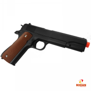Airsoft Galaxy G13 Full Metal - Pistola de airsoft 6mm Galaxy G13 Spring Full Metal com coldre. Cod.1434