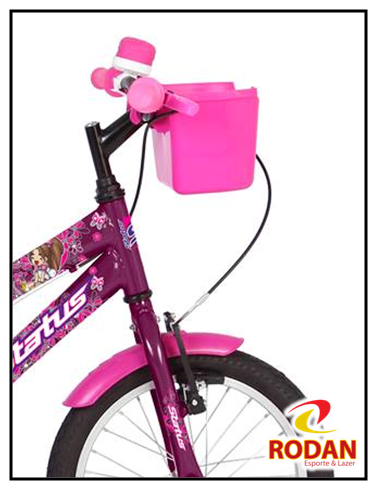 90ded6a67 Bicicleta aro 16 Status violeta - Modelo Belissima. Cód 1489 »